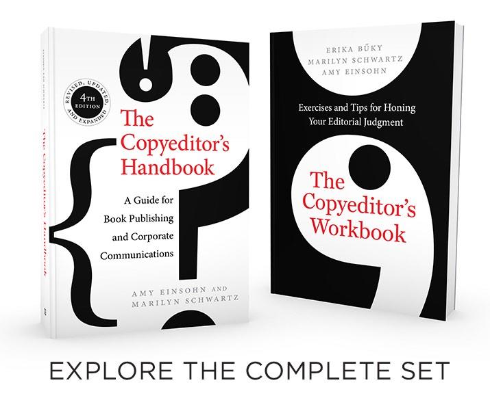 The Copyeditor's Handbook by Amy Einsohn, Marilyn Schwartz