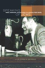 Speaking of Jews by Lila Corwin Berman