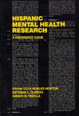 Hispanic Mental Health Research by Amado M. Padilla, Esteban L. Olmedo, Frank Newton
