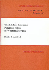 The Middle Miocene Pyramid Flora of Western Nevada by Daniel I. Axelrod