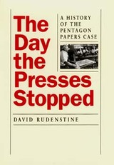 The Day the Presses Stopped by David Rudenstine