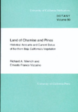 Land of Chamise and Pines by Richard A. Minnich, Ernesto Franco Vizcaino