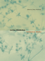 Lorine Niedecker by Lorine Niedecker, Jenny Penberthy