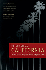 California by Peter Schrag