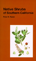 Native Shrubs of Southern California by Peter H. Raven