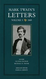 Mark Twain's Letters, Volume 3 by Mark Twain, Victor Fischer, Michael Barry Frank