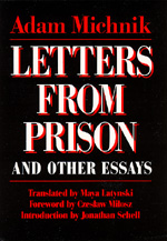 Letters From Prison and Other Essays by Adam Michnik