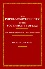 From Popular Sovereignty to the Sovereignty of Law by Martin Ostwald