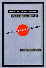 Siting Translation by Tejaswini Niranjana