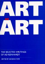 Art as Art by Barbara Rose