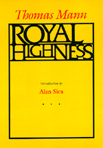 Royal Highness by Thomas Mann