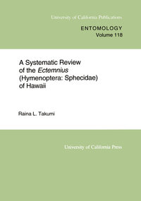 A Systematic Review of the Ectemnius (Hymenoptera by Raina L. Takumi