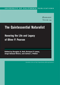 The Quintessential Naturalist by Douglas A. Kelt, Enrique P. Lessa, Jorge Salazar-Bravo, James L. Patton
