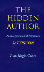 The Hidden Author by Gian Biagio Conte