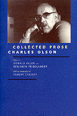 Collected Prose by Charles Olson, Donald Allen, Benjamin Friedlander