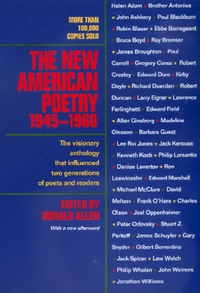 The New American Poetry, 1945-1960 by Donald Allen