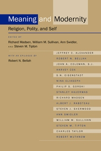 Meaning and Modernity by Richard Madsen, William M. Sullivan, Ann Swidler, Steven M. Tipton