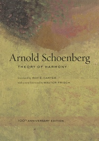 Theory of Harmony by Arnold Schoenberg