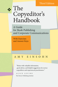 The Copyeditor's Handbook by Amy Einsohn