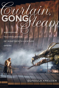 Curtain, Gong, Steam by Gundula Kreuzer