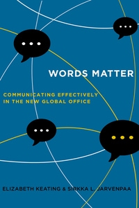Words Matter by Elizabeth Keating, Sirkka L. Jarvenpaa