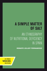 A Simple Matter of Salt by Renate Lellep Fernandez