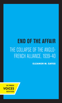 End of the Affair by Eleanor M. Gates