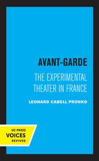 Avant-Garde by Leonard C. Pronko