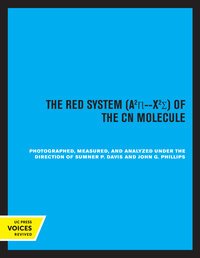 The Red System of the CN Molecule by Sumner P. Davis, John G. Phillips