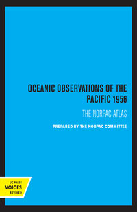 Oceanic Observations of the Pacific 1956 by Scripps Institution of Oceanography