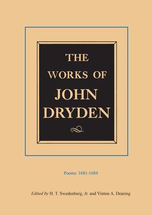 The Works of John Dryden, Volume II by John Dryden, H. T. Swedenburg