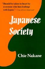 Japanese Society by Chie Nakane