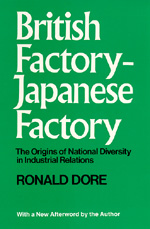 British Factory-Japanese Factory by R. P. Dore