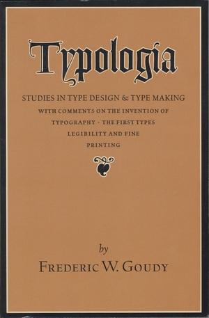 Typologia by Frederic W Goudy