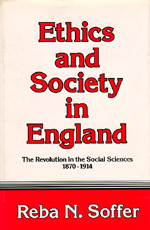 Ethics and Society in England by Reba N. Soffer