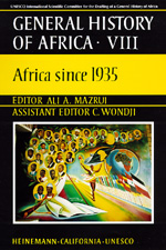 UNESCO General History of Africa, Vol. VIII by Ali A. Mazrui
