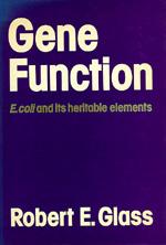 Gene Function by Robert E. Glass