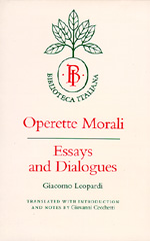 Operette Morali by Giacomo Leopardi