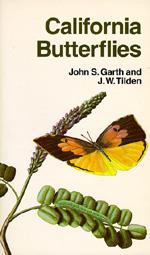 California Butterflies by John S. Garth, J. W. Tilden