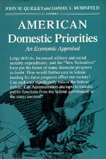 American Domestic Priorities by John M. Quigley, Daniel L. Rubinfeld