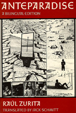 Anteparadise, A Bilingual edition by Raul Zurita