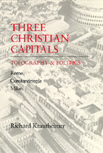 Three Christian Capitals by Richard Krautheimer