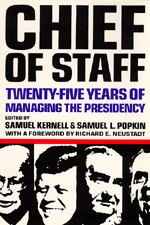 Chief of Staff by Samuel Kernell, Samuel L. Popkin