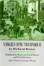 Virgil's Epic Technique by Richard Heinze