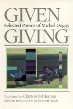 Given Giving by Michel Deguy