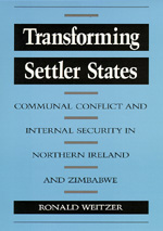 Transforming Settler States by Ronald Weitzer