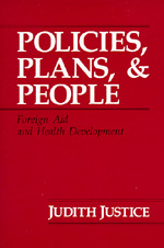 Policies, Plans, and People by Judith Justice