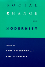 Social Change and Modernity by Hans Haferkamp, Neil J. Smelser