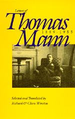 Letters of Thomas Mann, 1889-1955 by Thomas Mann