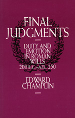 Final Judgments by Edward Champlin